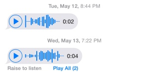 Audio Messages from Jordan