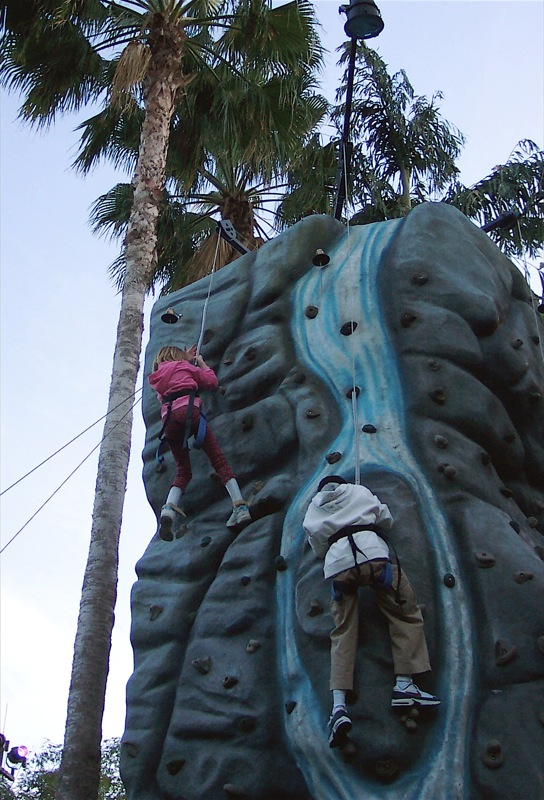Jordan and the Rock Wall